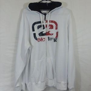 BillaBong XL Hooded Zip Front Sweatshirt